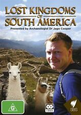 Lost Kingdoms of South America NEW R4 DVD
