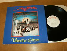 SAMAIN : VABRATIONS OF DOOM - HOLLAND LP 1984 - ROADRUNNER RR 9836 - Heavy metal