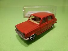 MAJORETTE 234  SIMCA 1100 TI - RED 1:60 - VERY GOOD CONDITION IN BOX