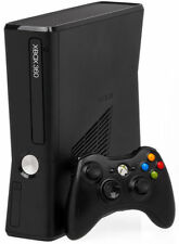 Microsoft Xbox 360 4GB Black Model S NEW OUT OF BOX NO KINECT SENSOR
