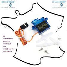 mini servo sg90 9 grammes imprimante 3D, modélisme, robotique