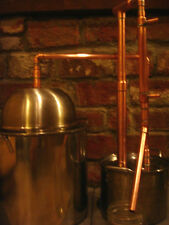 DELUXE REFLUX 5 Gallon Distiller Moonshine Copper Still Stainless Boiler Thumper