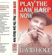 """David Holt - Play the Jaw Harp Now (Cassette 1988 High Windy) """"Jew's Harp"""""""