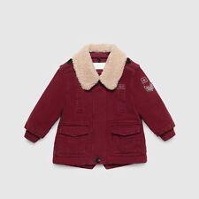 Gucci baby bourgogne manteau parka 9-12 mois