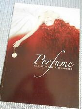 Perfume: The Story of a Murderer movie program Japan USED Ben Whishaw