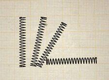 4 x Druckfeder,  Länge 30mm, Außen Ø4mm, Drahtstärke 0,4mm