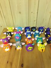 Lot of 21 1998 Hard Plastic Furby Dolls Tiger Electronics McDonald's Collectible