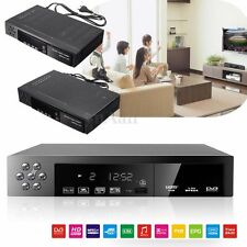 EU/UK Full HD 1080P DVB-T2+S2 Video Broadcasting Satellite Receiver Box TV HDTV