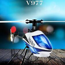 WLtoys V977 Power Star X1 6CH 2.4G Flybarless RC Helicopter no Transmitter C8P1