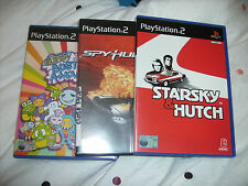 PLAYSTATION 2 Games SPYHUNTER STARSKY E HUTCH SUPER BUST A MOVE 2