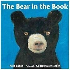 Bear in the Book by Kate Banks c2012 VGC Hardcover, We Combine Shipping