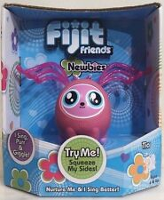 New FIJIT Friends Newbie Pink Tia Interactive Toy Sings Purrs Giggles