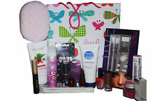 24pc Glam Beauty Makeup Skin & Nail Art Gift Set + Revlon Bourjois Sally Hansen