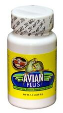 Zoo Med's Avian Plus Vitamin & Mineral Supplement for Birds  1oz size New
