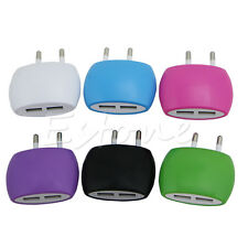 2.1A/1A Dual 2-Port USB Wall Adapter Charger EU Plug For Samsung S4 S5 iphone