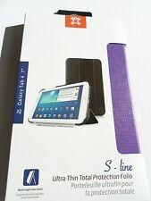 Ultra Delgado Estuche de línea S Galaxy Tab 4, 7 de pulgada púrpura NUEVO