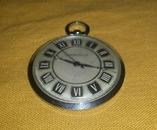 Vintage Caravelle by Bulova Pocket Watch Base Metal M5 Roman Numeral Japan