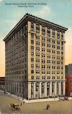 Tenn. Nashville, Fourth National Bank, Stahlman Building, carriages 1913