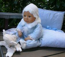 Zapf Colette Puppe Lukas 43 cm aus 1998 + viel Zubehörr, Babypuppe Doll