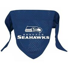 Seattle Seahawks Pet Dog Bandana Large