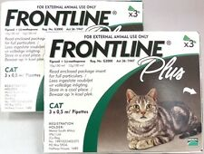 Frontline Plus for Cats Green 6 Pack Free Shipping