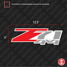 2X Z71 4X4 OEM STYLE CHEVY CHEVROLET CAR sticker vinyl decal