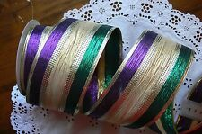 SPECIALITY Ribbon Wired 6 Styles 65mm Wide - 1 & 2 Metre Lengths MultiList HalT2