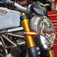 Ducati Monster 796 Front Turn Signals - New Rage Cycles
