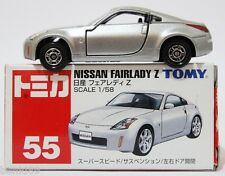 1:58 SCALE #55 TOMICA NISSAN FAIRLADY Z RARE! TOMY 350Z