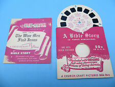 View-Master Reel CH-8, A Bible Story, The Wise Men Find Jesus, Single Reel