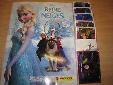 PANINI DISNEY LA REINE DES NEIGES MOMENTS PRECIEUX ALBUM FR COMPLET 192 STICKERS