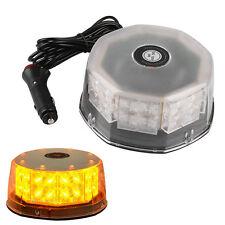 32 LED Magnetic Round Car Roof Emergency Warning Strobe Flashing Beacon Light
