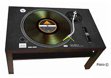 TAVOLINO TURNTABLE GIRADISCHI PX 1200 DJ DESIGN by PISCO ® PERSONALIZZA IL TUO!