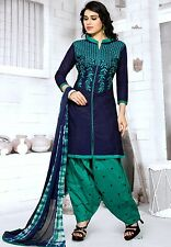 Radiant Cotton Embroidered Salwar Suit Dress Material D.NO GP611
