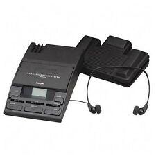 Philips Speech Mini Cassette Transcription System - Minicassette - Black