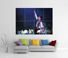 PRINCE LIVE PURPLE RAIN GUITAR SYMBOL HITS ULTIMATE GIANT WALL ART PRINT POSTER