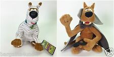 LOT OF 2 CARTOON NETWORK SCOOBY DOO PLUSH MUMMY DRACULA NEW