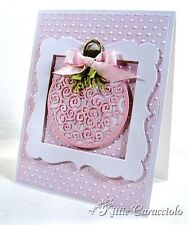Impression Obsession FANCY ORNAMENT DIE SET DIE026-O Winter Holiday Christmas