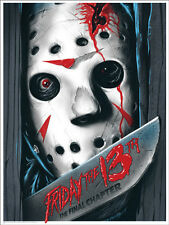 Friday the 13th Poster - Mondo - Gary Pullin - Limited Edition of 225