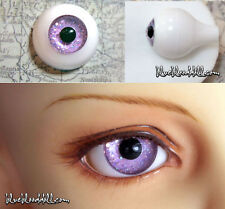 12mm acrylic doll eyes Glitter Lavender full eyeball bjd dollfie AE-40