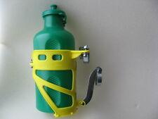 VINTAGE Flaschenhalter bottle cage gelb REG Italy Bonanza Oldie Retro 70iger NOS