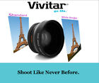 Vivitar HD4 Optics Wide Angle With Macro Lens For Canon GL2 GL1