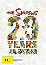 The Simpsons : Season 20 (DVD, 2010, 4-Disc Set) Used Set 20th