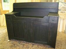 Primitive Handcrafted Sandy Ridge Dry Sink