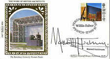 12 MAY 1987 BRITISH ARCHITECTS BENHAM SIGNED MAXWELL HUTCHINSON FDC SHS