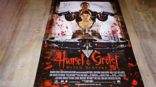 HANSEL ET GRETEL witch hunters ! affiche cinema