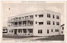 SOUTH CAROLINA, Hotel Douglas MacArthur, Ocean Drive Mrs V.C. Arnette,Owner