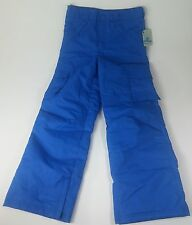 NWT Blue Slalom Cargo Snow Pants, Waterproof and Insulated Winter Sports Apparel