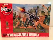 Airfix A01750 WWII Australian Infantry  1:72 Scale New 48 Unpainted Pieces