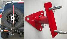 mount tire carrier binda HI LIFT ruota di scorta LAND ROVER DEFENDER DISCOVERY